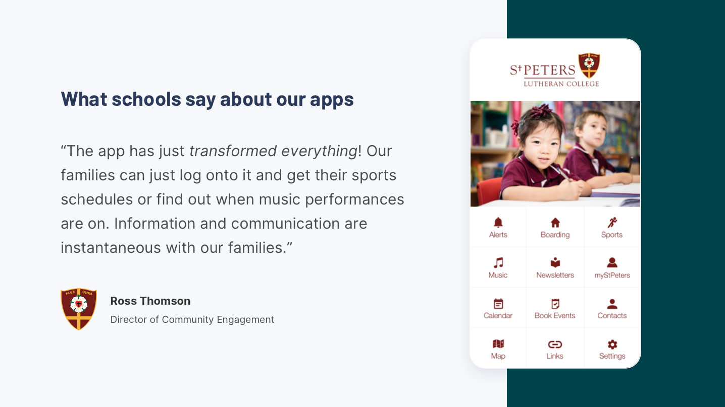 Digistorm Apps Software - What schools say about our apps