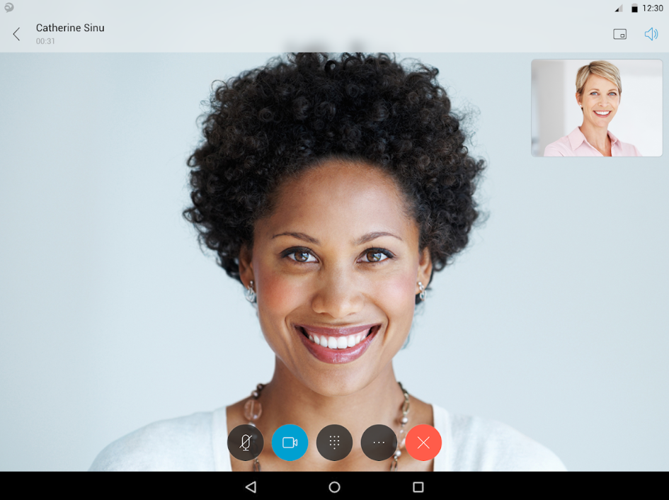 Cisco Jabber HD video conferencing
