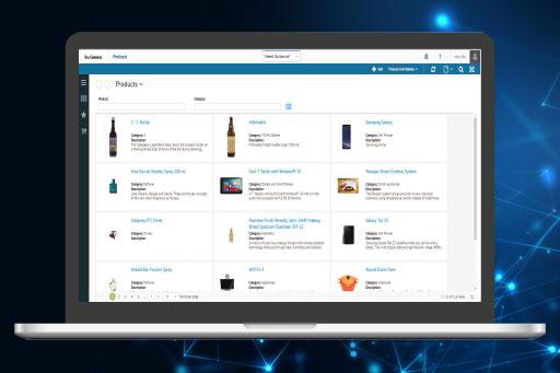 TrueCommerce PIM screenshot: TrueCommerce PIM product database