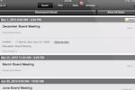 Directorpoint screenshot: View event details and descriptions