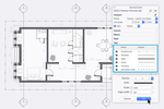 SketchUp screenshot: Turn your 3D models into detailed documents. With LayOut, you can customize your views, add details and dimensions, and create title blocks. The best part: when your 3D model updates, so do your drawings.