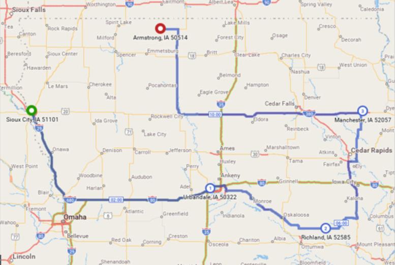 PC*MILER route maps