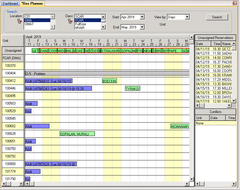 RentWorks Logiciel - 2