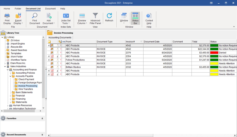 DocuXplorer Software - 2