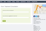 Ovatu Screenshot: Online feedback or consultation forms can be generated and sent to customers via email