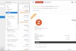 Captura de tela do Zoho Invoice: Zoho Invoice - Invoice Status