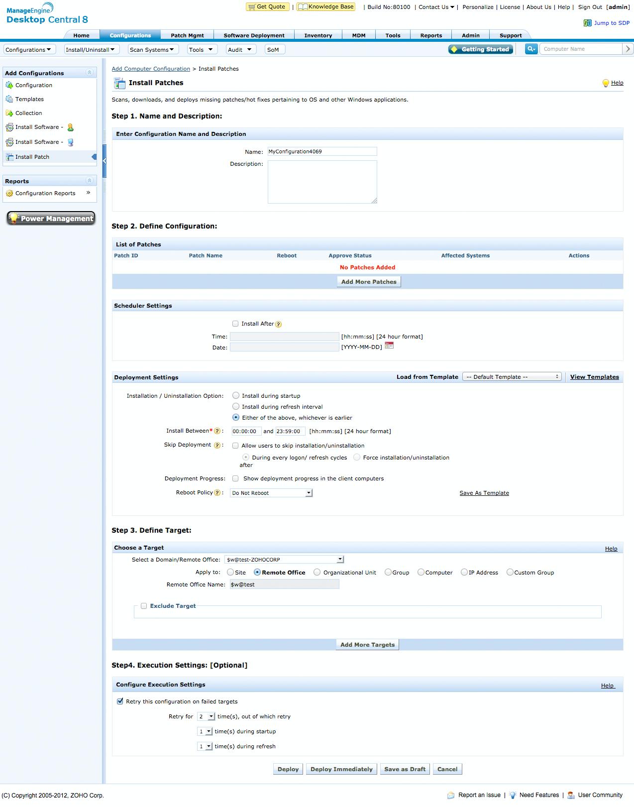 ManageEngine Desktop Central Logiciel - 2