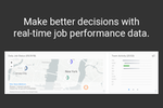 Knowify screenshot: Make better decisions with real-time job performance data.