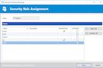 Remote Desktop Manager screenshot: Remote Desktop Manager security role assignment
