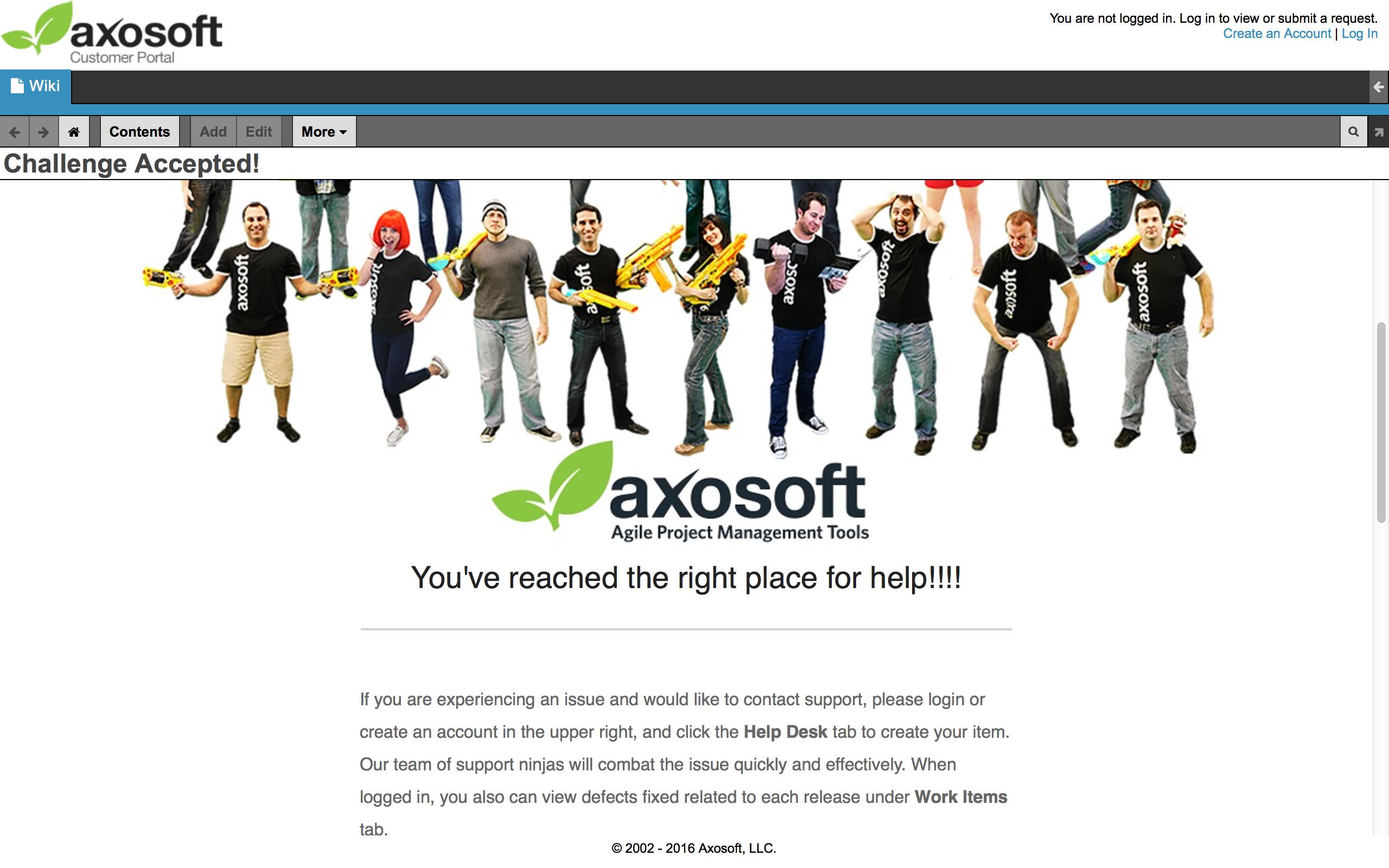 Axosoft Software - Portal