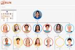 BizRun screenshot: Org charts can be created within BizRun