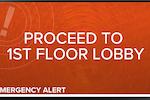 Capture d'écran pour CommandCenterHD : CommandCenterHD's Emergency Alert Integration for Real-Time Instructions
