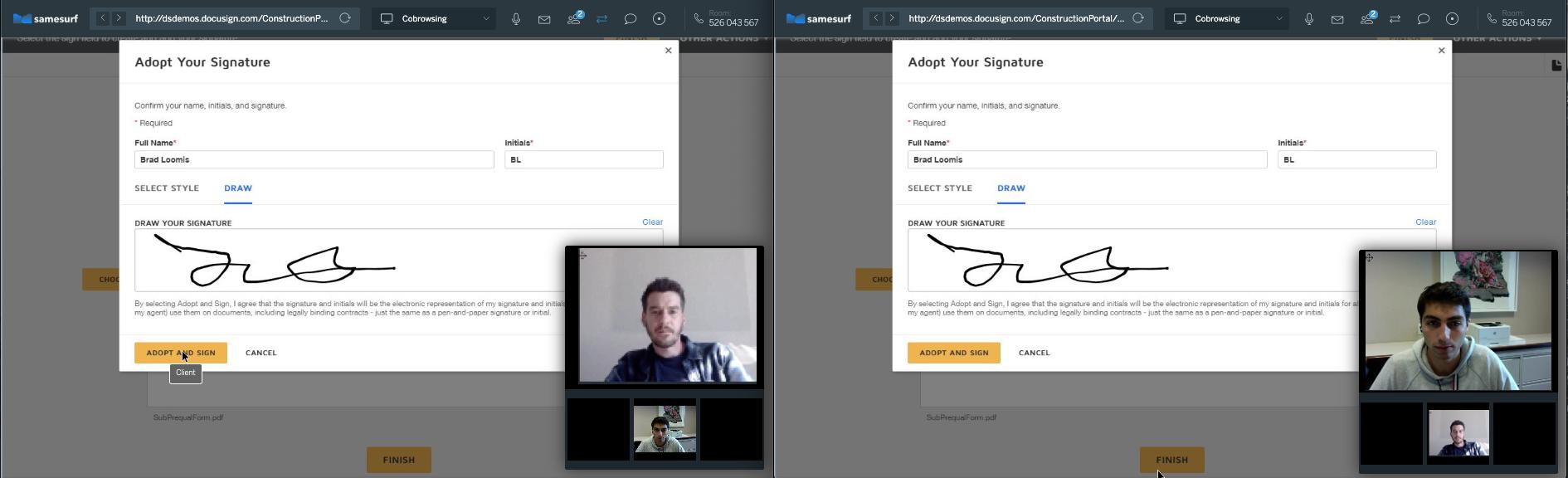 Samesurf Digital Signature