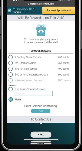 The Digital Shop loyalty points