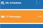 CareVoyant screenshot: Employee Portal Home Page