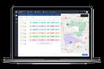 Locus Dispatcher screenshot: Locus Dispatcher automatically creates optimized routes using AI technology