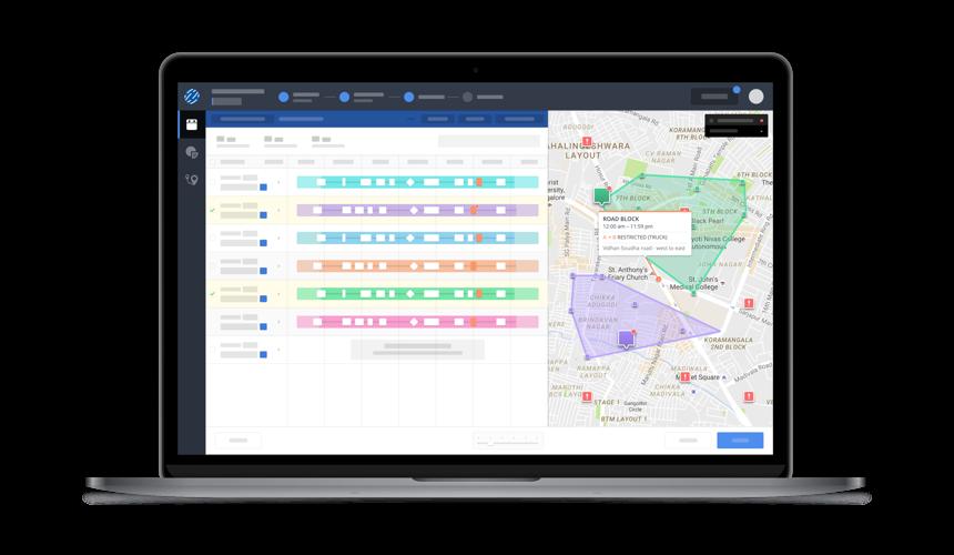Locus Dispatcher automatically creates optimized routes using AI technology