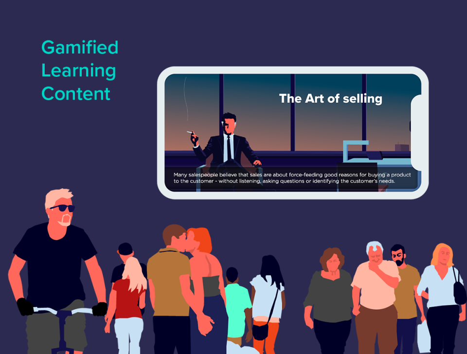 Improve effectiveness of your learning with gamified learning content
