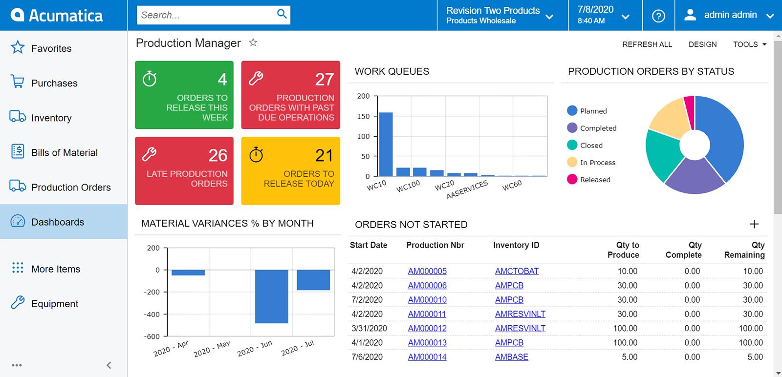 Acumatica Cloud ERP Software - 1