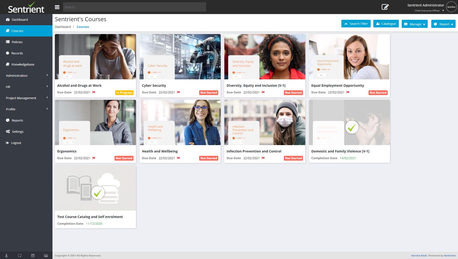 Workplace Compliance System Logiciel - 5