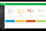 znanja screenshot: Create courses from scratch, import content, or edit existing courses