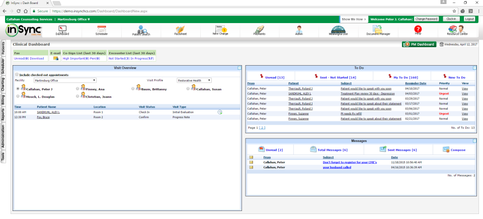 InSync Healthcare Solutions Software - 3