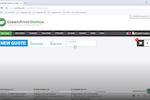 IQcore screenshot: IQcore creating a new quote