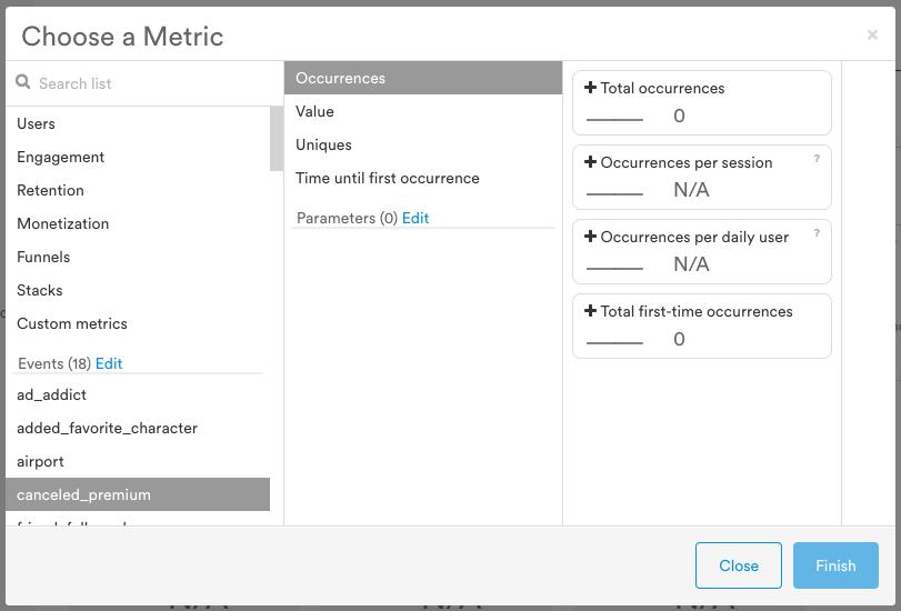 Leanplum Software - Event metrics