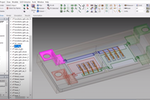 ANSYS SpaceClaim screenshot: Ansys project manager