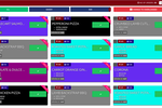 Menumiz screenshot: The kitchen display provides users with an overview of all orders placed