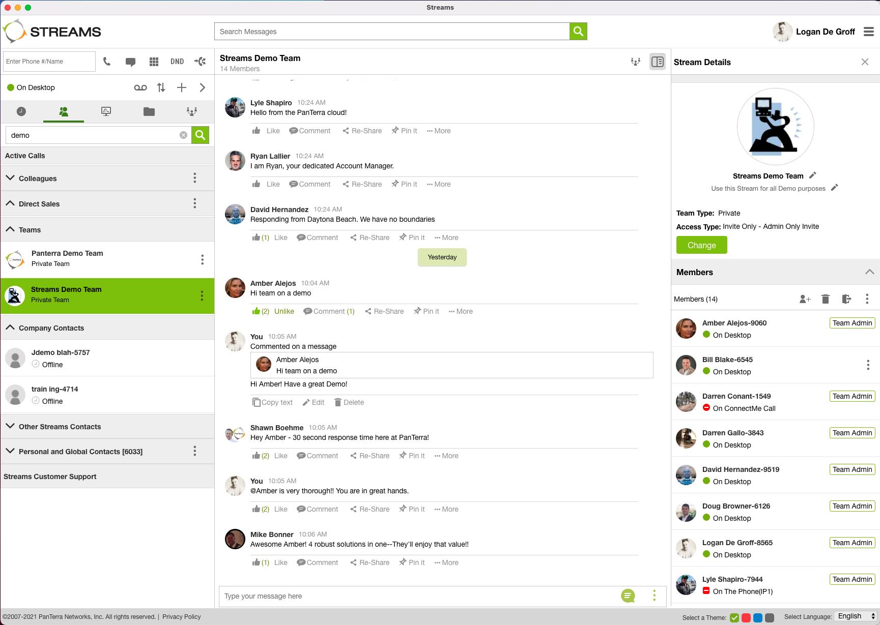 Team Messaging