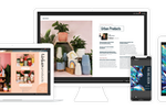 Issuu screenshot: Optimized for all devices