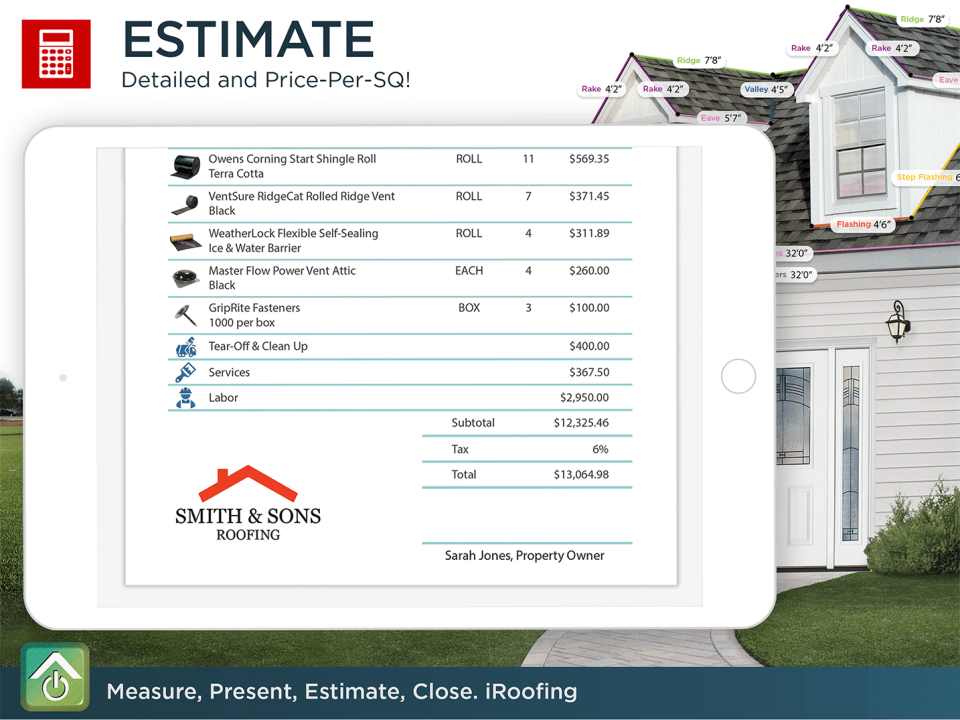 iRoofing Software - 3