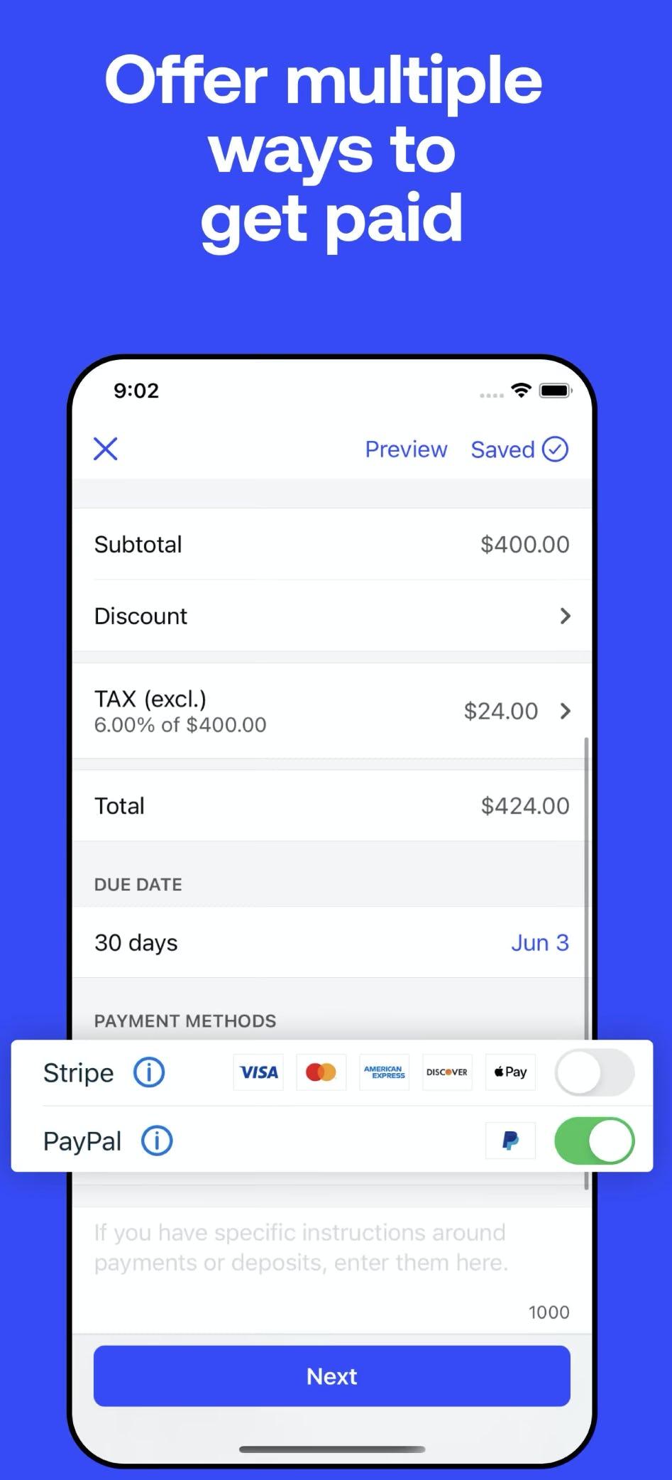 Invoice2go Software - 2