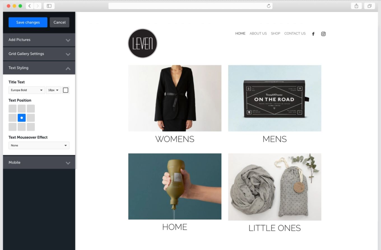 Rocketspark website design