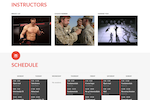 Martial Arts on Rails screenshot: Get full control over and content and branding for websites