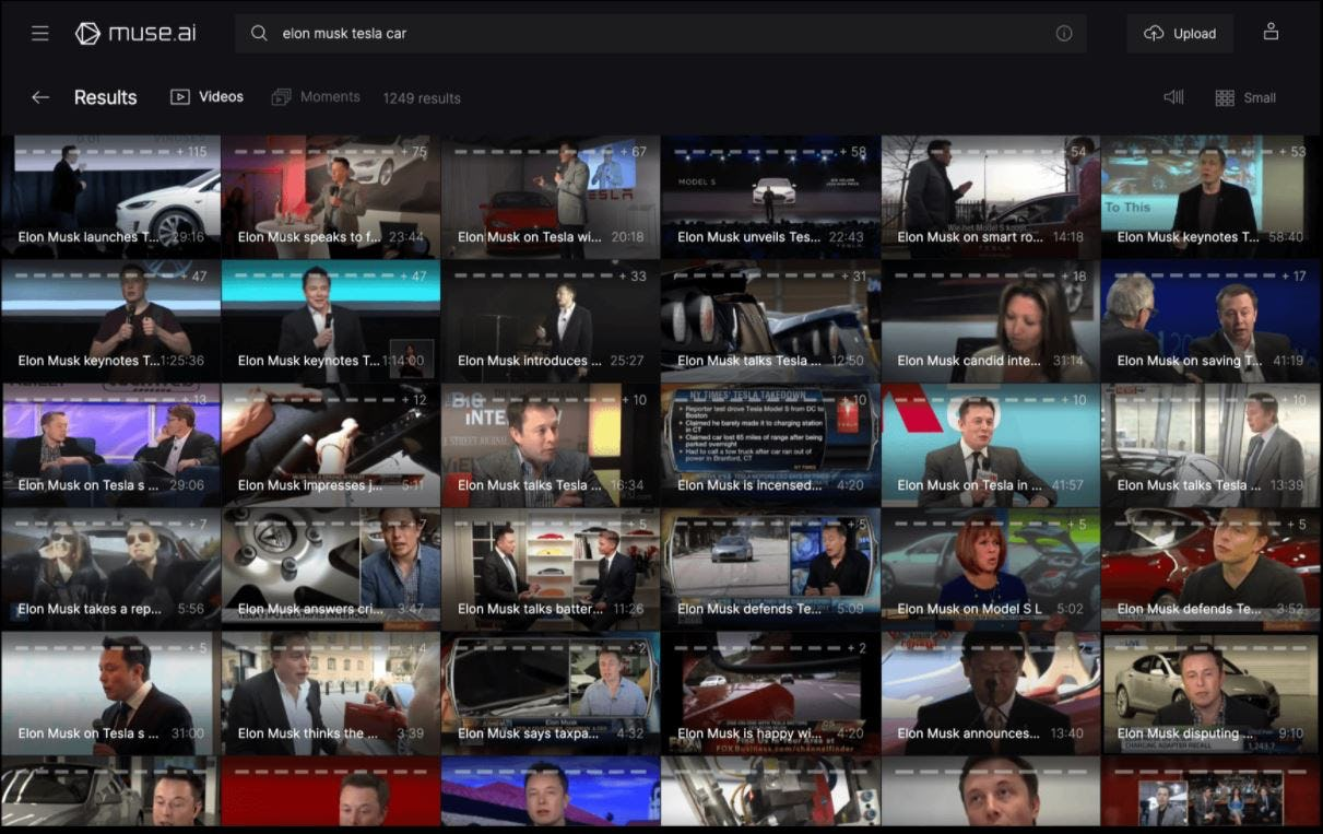 muse.ai video search