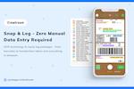 Capture d'écran pour PackageX Mailroom : OCR Software - Package Label Scanning