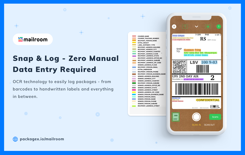 OCR Software - Package Label Scanning