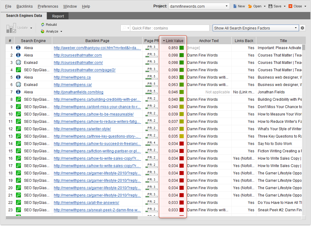 SEO PowerSuite Software - 3