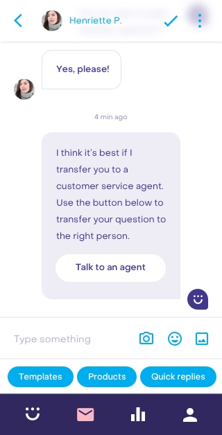 Heyday mobile conversation