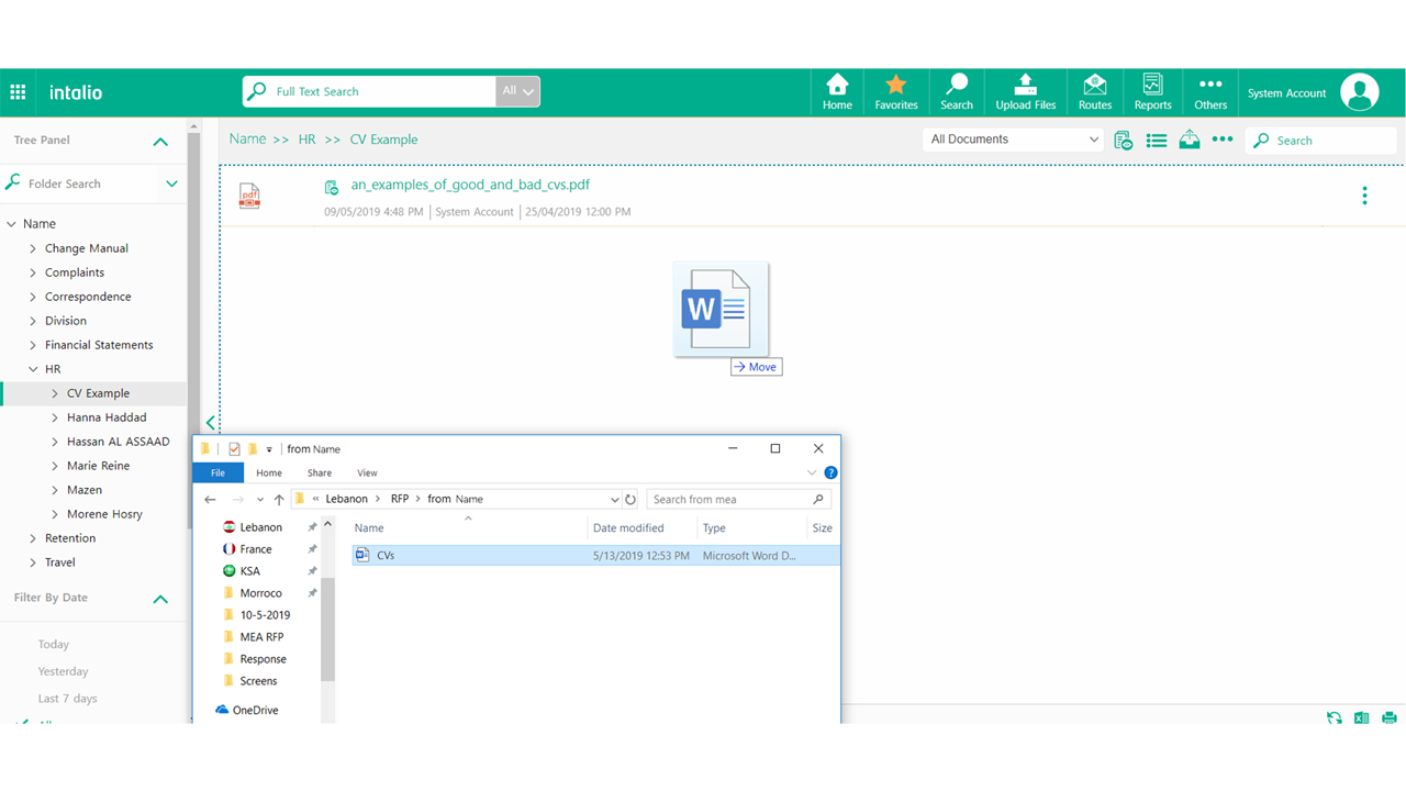 Intalio Document Management System