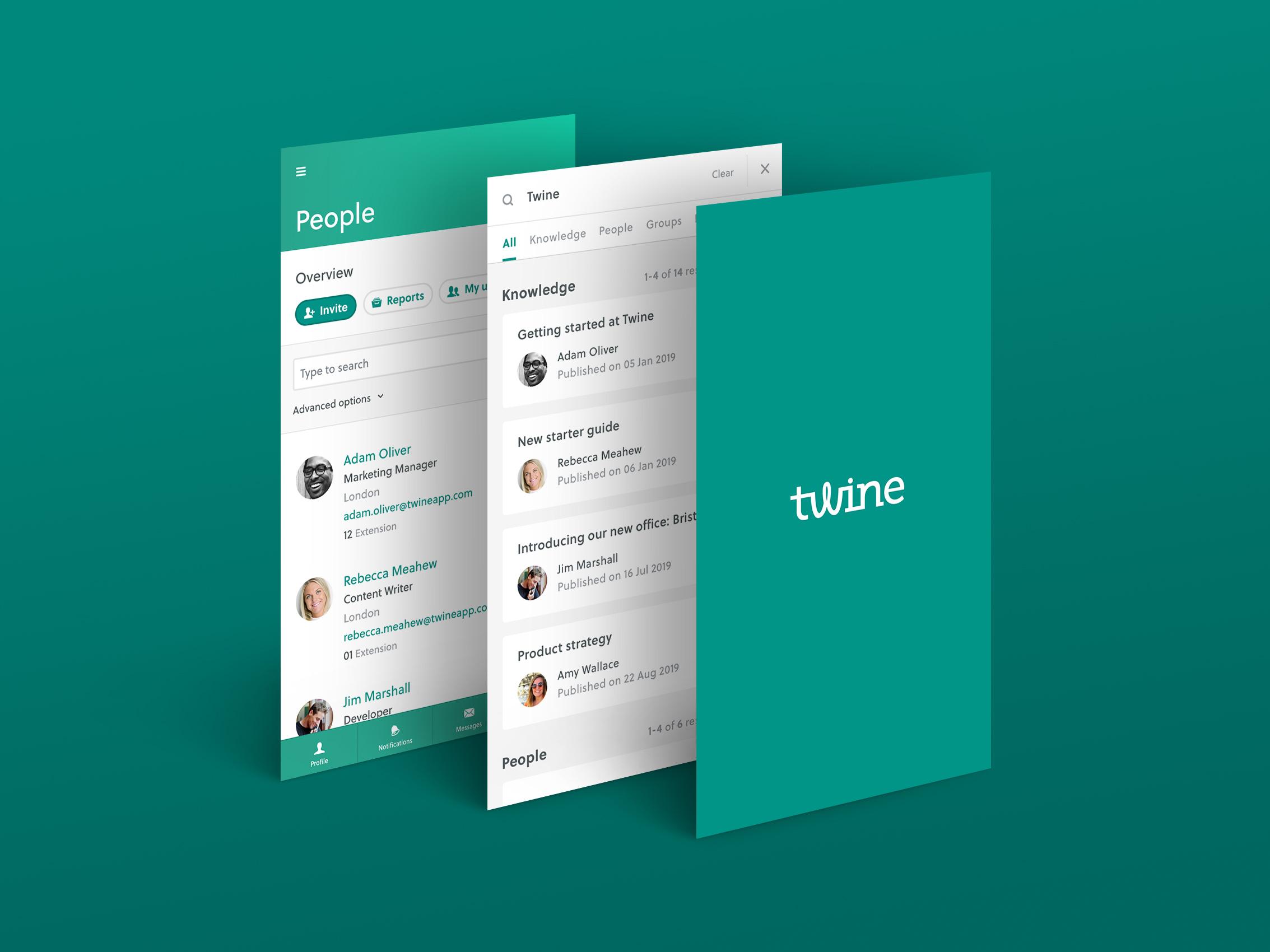 Twine screenshot: Beautifully designed