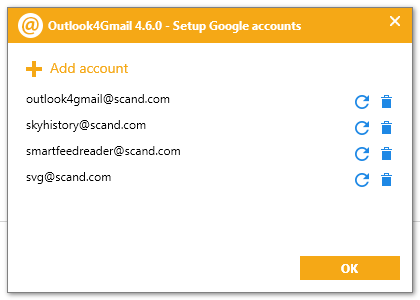 Outlook4Gmail Software - 5
