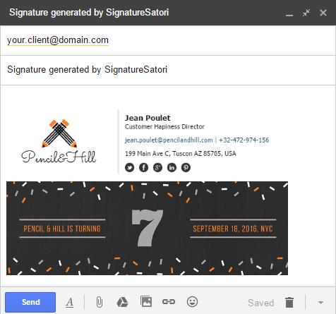 SignatureSatori email signatures