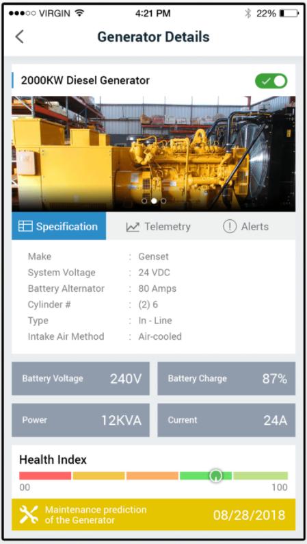 IoTConnect generator details