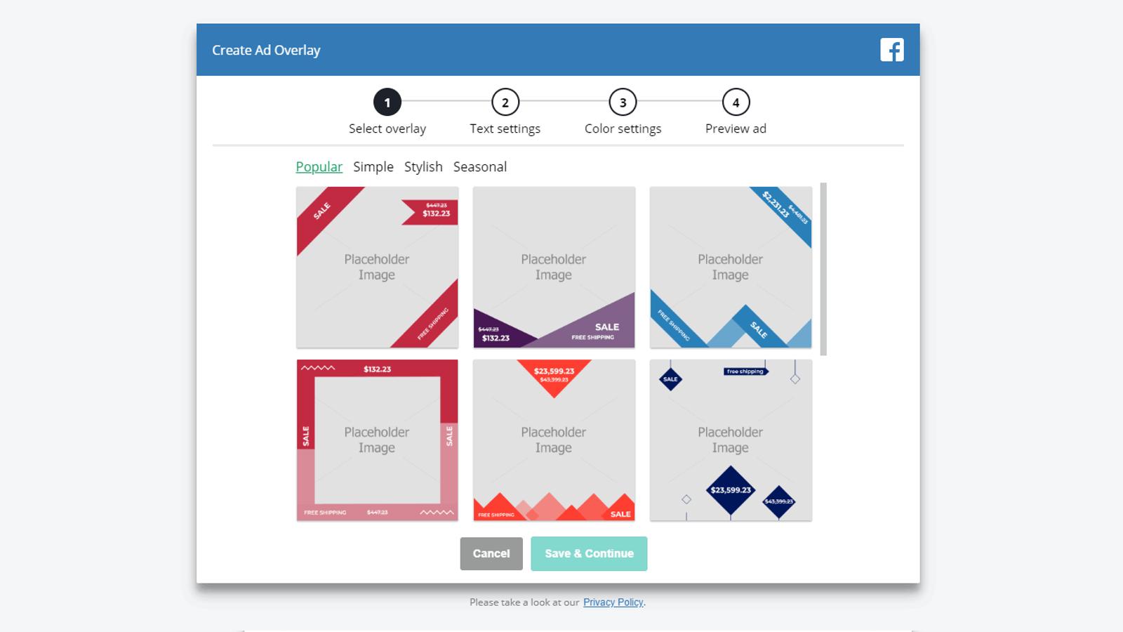 ROI Hunter Easy overlay creation tool screenshot