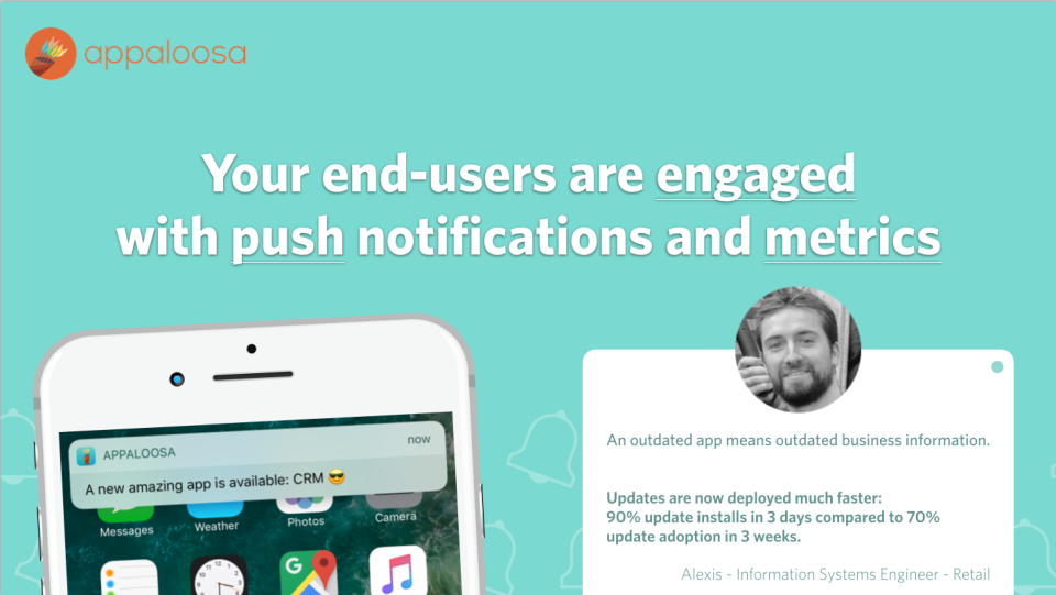 Engage with users