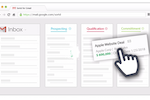 Sortd for Sales screenshot: Drag and drop important emails into sales pipeline