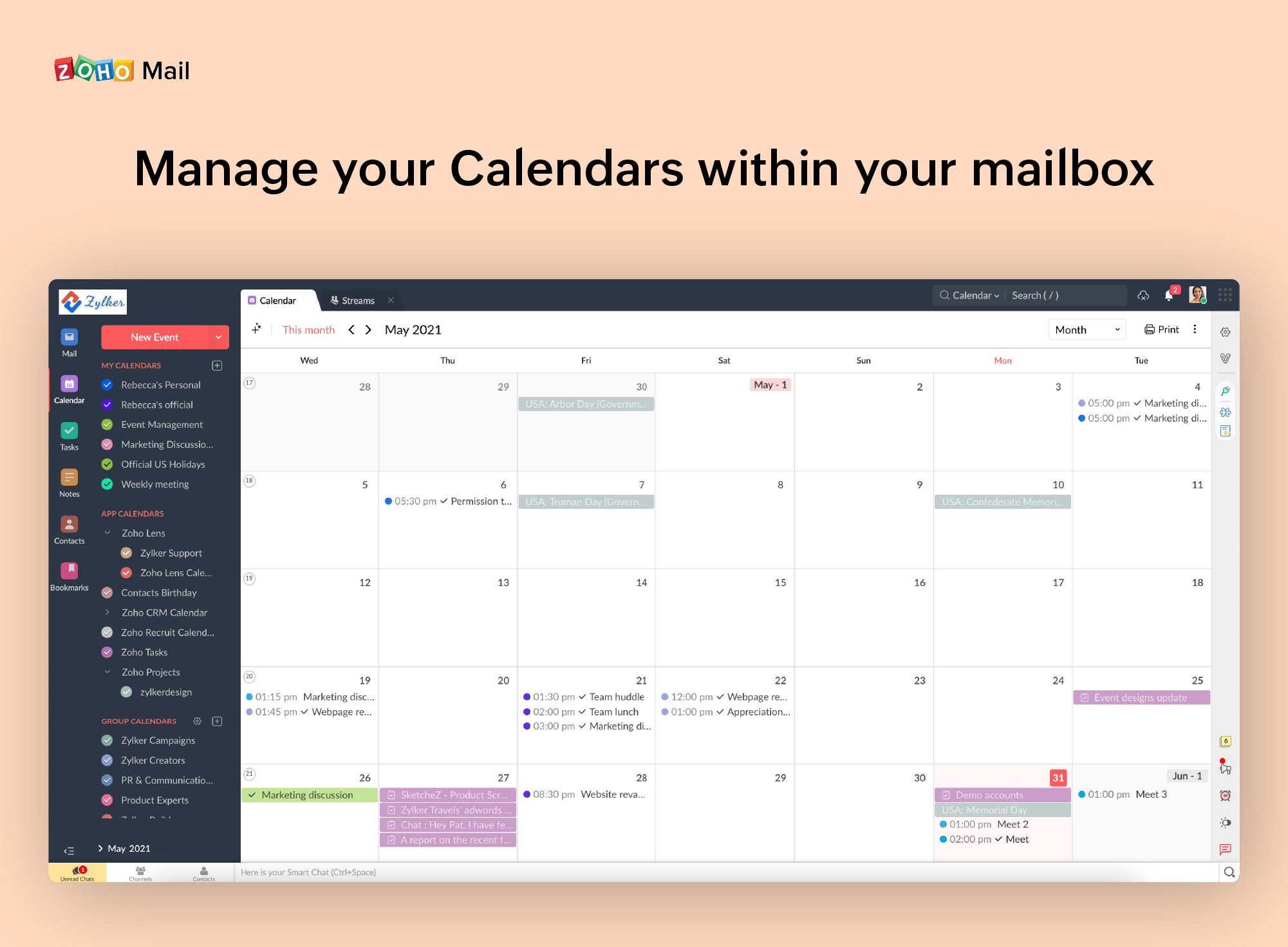 Zoho Mail Software - 2
